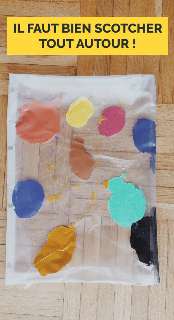 Explication pour la peinture propre