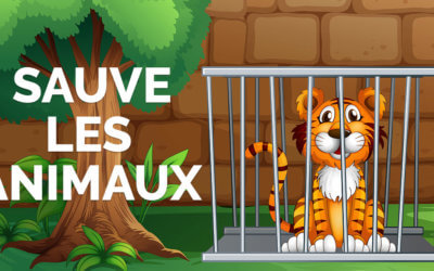 Sauve les animaux ! 🐘🐅