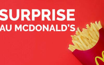 Surprise au McDonald's 🍔🍟
