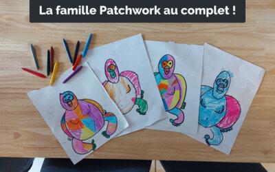 Le gorille patchwork